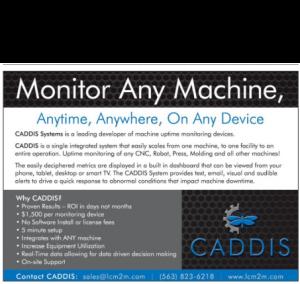 Caddis Machine Monitoring