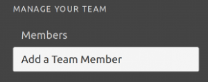 Configuration add member button